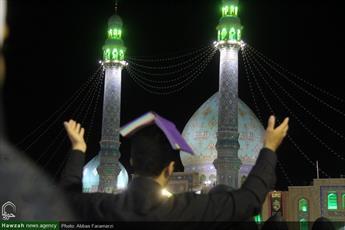 تصاویر/ مراسم احیای شب بیست و سوم ماه مبارک رمضان در مسجد مقدس جمکران