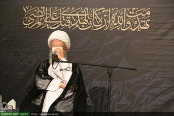 تصاویر/ مراسم احیای شب بیست و سوم ماه مبارک رمضان در مدرسه علمیه امام کاظم(ع)