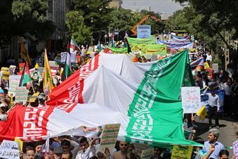 شعار «مرگ بر اسرائیل» در کردستان طنین انداز شد
