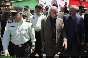 راهپیمایی روز قدس، حرکت بزرگ و آرمانی ملت با ایمان ایران است