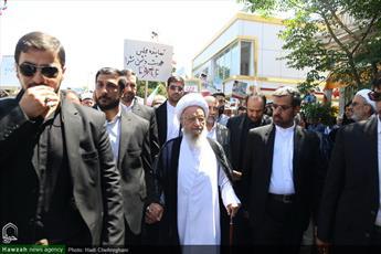 تصاویر/ حضور مراجع و علما در راهپیمایی روز جهانی قدس-۴