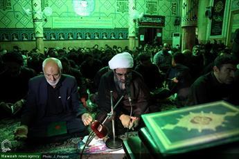 تصاویری از احیای شب بیست و سوم ماه رمضان در قم