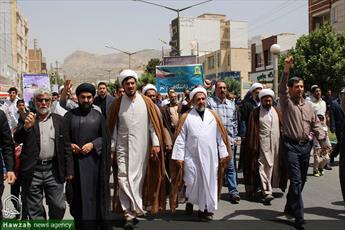 تصاویر/ راهپیمایی روز جهانی قدس در ایلام