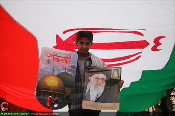 نماهنگ/ راهپیمایی روز جهانی قدس در بیرجند