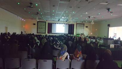 مراسم شب بیست و سوم ماه مبارک رمضان در مرکز تعلیمات اسلامی واشنگتن برگزار شد + تصاویر