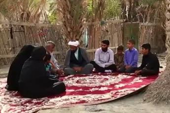فیلم/ ماجرای فعالیت های قرآنی یک روحانی در بشاگرد
