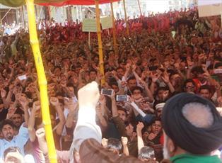 راهپیمایی روز قدس در شهر سکردو بلتستان پاکستان برگزار شد +تصاویر