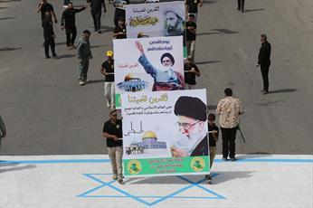 تصاویر/ راهپیمایی روز قدس در بغداد