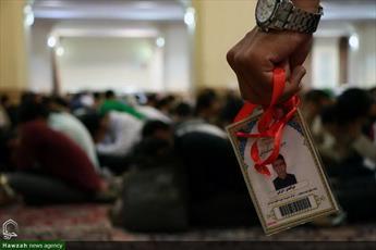 تصاویر/ اعتکاف طلاب خراسانی در جوار حرم رضوی