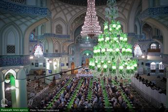 تصاویر/ ترتیلخوانی قرآن کریم در حرم حضرت عبدالعظیم حسنی(ع)