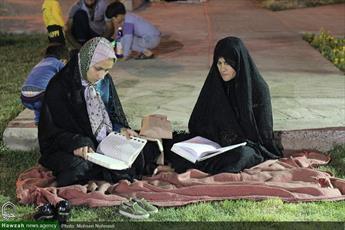 تصاویر/ فعالیت های قرآنی در پارک شعبانیه بیرجند
