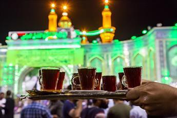 افطار با طعم چای سادات کربلا+ تصاویر