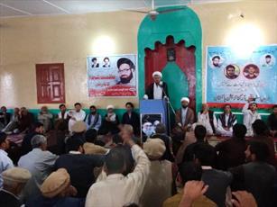 مراسم تکریم و تجلیل از شهدا در کچورا سکردو پاکستان برگزار شد+تصاویر