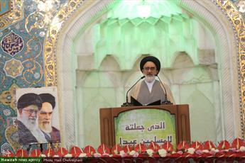 """مسلمانان باید در برابر دشمنان """"اشدا علی الکفار"""" باشند/ آمریکا با خروج از برجام نشان داد که کشور بدعهدی است"""