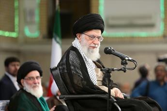 صوت/ بیانات رهبری  در دیدار مسئولان نظام و سفرای کشورهای اسلامی