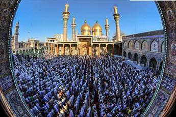 مسلمانان عراق در عتبات مقدس ائمه(ع) نماز عید خواندند