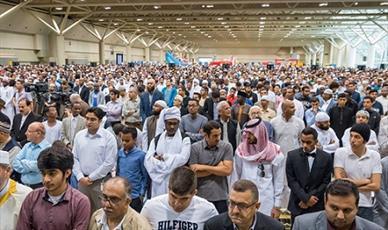 ده ها هزار مسلمان درسراسر کانادا عید فطر را جشن گرفتند + تصاویر