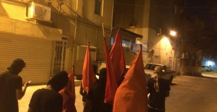 تظاهرات مردم بحرین توسط رژیم آل خلیفه سرکوب شد