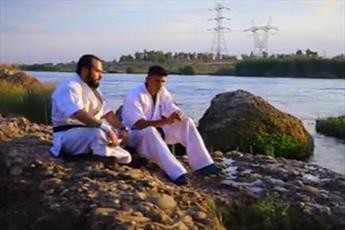 فیلم/ فعالیت های ورزشی یک طلبه در خوزستان