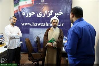 مدیر حوزه علمیه کرمانشاه از خبرگزاری حوزه بازدید کرد+ عکس
