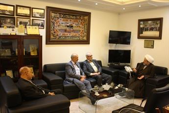 هیئتی از مجمع تقریب مذاهب با تجمع علمای مسلمان دیدار و بر وحدت اسلامی تاکید کردند