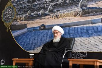 تصاویر/ مراسم سالروز تخریب قبور ائمه بقیع(ع) در بیوت مراجع و علما