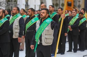 مراسم سالروز تخریب قبور ائمه بقیع (ع) در حرم امیر المؤمنین (ع) برگزار شد+ تصاویر