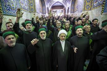 عزاداری سالروز تخریب قبور ائمه بقیع در حرم  امام حسین(ع) و حضرت عباس (ع) برگزار شد + تصاویر