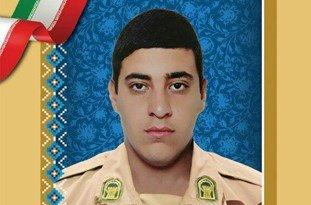پیکر مرزبان شهید در حرم امام رئوف تشییع شد