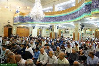 تصاویر/ آیین شکرانه سلامتی رهبر معظم انقلاب در مسجد ابوذر تهران