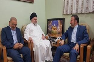 دیدار رئیس دفتر رئیس جمهور با حجت الاسلام و المسلمین شهرستانی