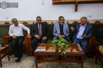 دانشگاه اهل بیت(ع) اردن با آستان مقدس علوی همکاری میکند
