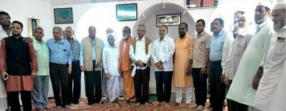 یکی از مساجد جنوب هند درهایش را به روی هندوها گشود