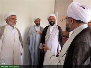 تصاویر/ بازدید حجت الاسلام والمسلمین مروی از روند برگزاری مصاحبه داوطلبان ورود به حوزه تهران