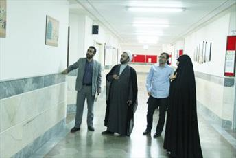 بازدید مدیرکل روابط عمومی جامعه الزهرا از آموزشگاه امام رضا(ع)