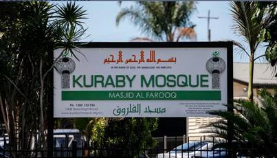 گروهی که خودشان را روزنامه نگار جا می زنند، در مسجد استرالیا آشوب به پا کردند