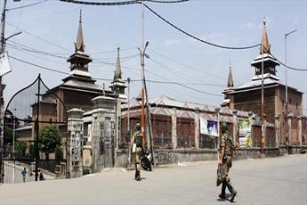 ادامه ممنوعیت برگزاری «نماز جمعه» در کشمیر