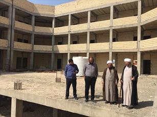 مدیر حوزه استان  بوشهر   از ساختمان  مدرسه علمیه  خورموج بازدید کرد