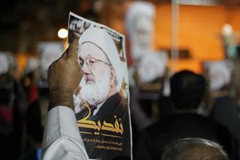 انقلابیون بحرینی ساکن انگلیس آل خلیفه را مسئول سلامتی شیخ عیسی قاسم دانستند