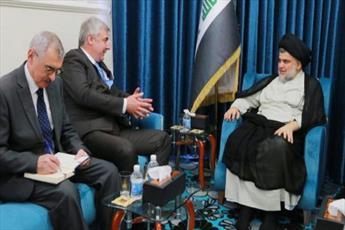 سفیر روسیه در عراق با سید مقتدی صدر دیدار کرد