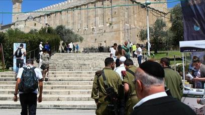 اسرائیل در نیمه نخست امسال ۲۹۸ مرتبه مانع پخش اذان در مسجد ابراهیمی شد