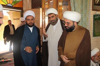 تصاویر/ بزرگداشت امام جمعه فقید شهرستان الوند در قزوین