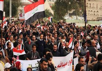 خطر تحقق توطئه آمریکا برای تجزیه عراق از طریق اعتراضات مردمی/ تخریب اموال عمومی در اعتراضات مورد تایید علما نیست