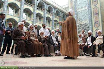 تصاویری از دومین روز سفر آیت الله اعرافی به استان مازندران