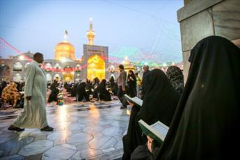 دعای حضرت امام رضا (ع) برای حضرت صاحب الزمان (عج)