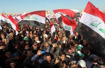 دو دستگی در میان تظاهرات کنندگان معترض عراقی