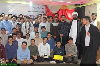 تصاویر/ اختتامیه «طرح میثاق طلبگی» طلاب جدیدالورود کردستان