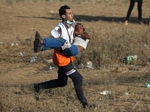 ۴جوان فلسطینی در حمله صهیونیست ها به نوار غزه شهید شدند