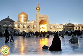بانوان طلبه اصفهانی در  اردوی زیارتی مشهد
