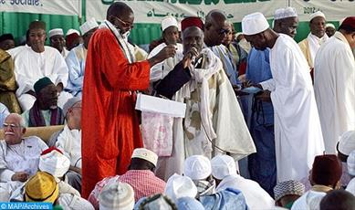 مراسم ذکر سالیانه فرقه تیجانیه در سنگال برگزار شد